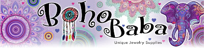 artwork showing Boho Baba logo in colour