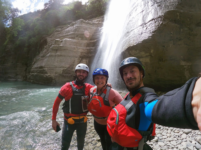 By the Love Waterfall, Osumi River, Albania