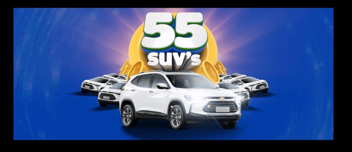 Participar Aniversário 55 Anos Gazin 55 Suv's - Cadastrar, Prêmios e Ganhadores