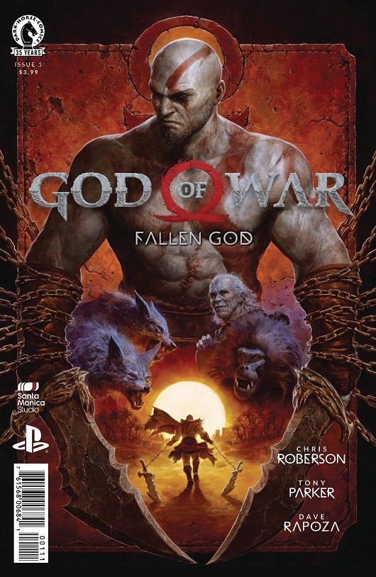 Cover of God of War Fallen God #1