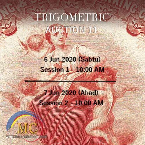 Trigometric Auction 11 pada 6 & 7 Jun 2020
