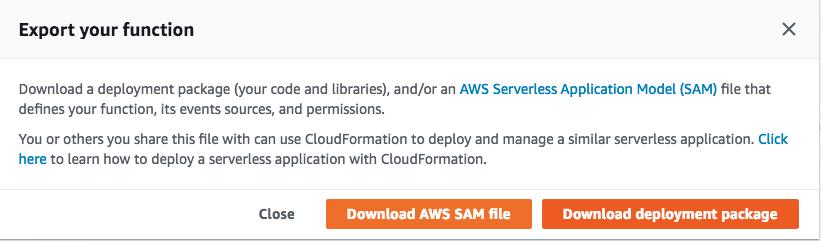 Creating Serverless application using SAM