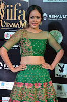 Nandita Swetha in a tight Green Choli Ghagra at IIFA Utsavam Awards March 2017 ~ 001.JPG