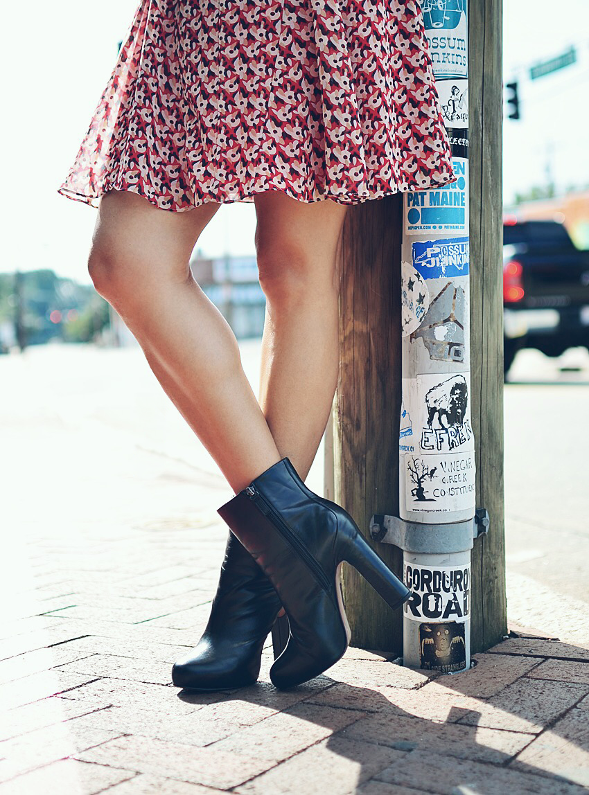Platform boots street style