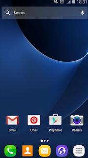 cara merubah tampilan status bar android