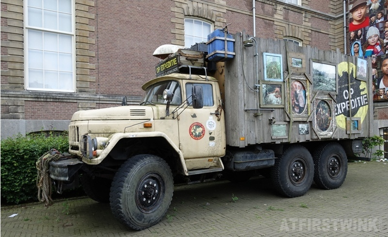 Museum Volkenkunde Leiden the Netherlands expedition truck