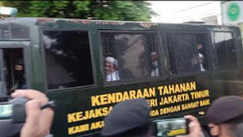 Usai Sidang, Habib Rizieq: Lawan Kezaliman, Tegakkan Keadilan!