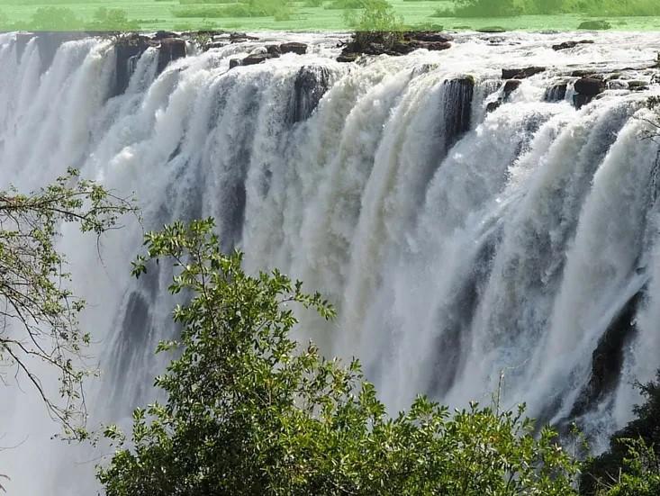 Air Terjun Victoria Terkenal Di Dunia Kini Mengering Orangmuo My