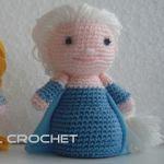 patron gratis muñeca elsa amigurumi | free pattern amigurumi doll elsa
