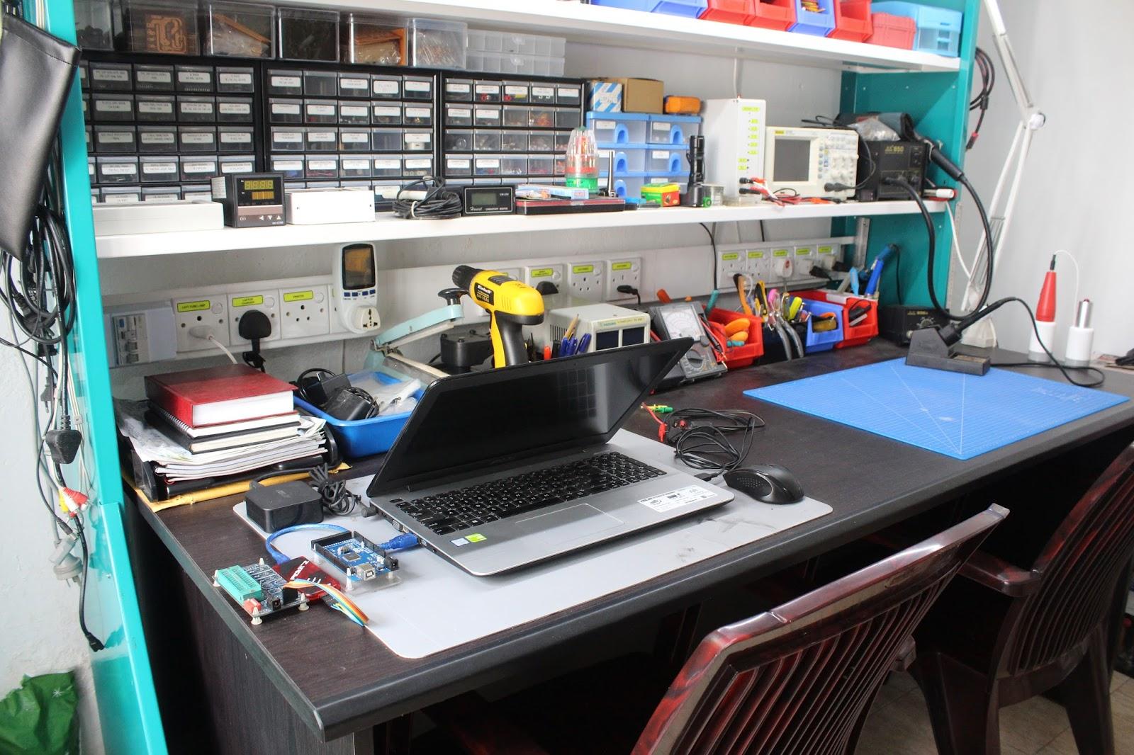 Electronics Workbench Gsmicro