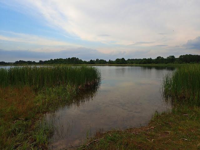 Ukraińskie Polesie, jedno z jezior
