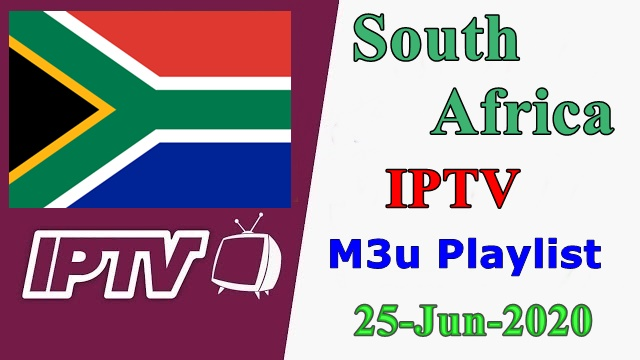 South Africa IPTV Free VLC Player m3u Playlists 25-Jun-2020