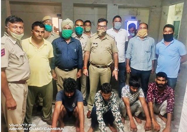 पेट्रोल पम्प संचालक की हत्या के 4 आरोपी नागौर पुलिस ने पकड़े, 2.86 लाख रुपये बरामद