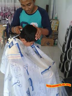 Tukang Cukur Rambut Murah Baru Bekasi Langganan Keluarga