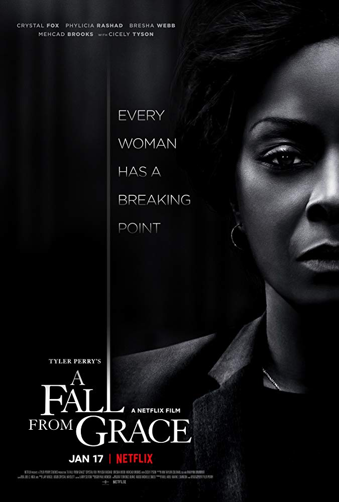 A Fall from Grace 2020 HD 1080p Español Latino poster box cover