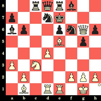 Les Blancs jouent et matent en 4 coups - Jan Hein Donner vs Arthur Dunkelblum, Beverwijk, 1964