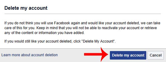 facebook account ko permanently delete kaise kare