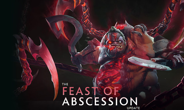 THE FEAST OF ABSCESSION en dota 2!