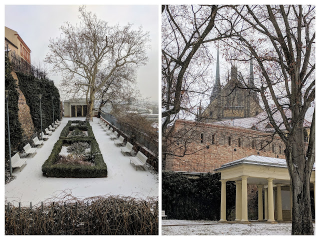 Visit Brno in January: Denis Gardens and the Fortification Wall Circuit