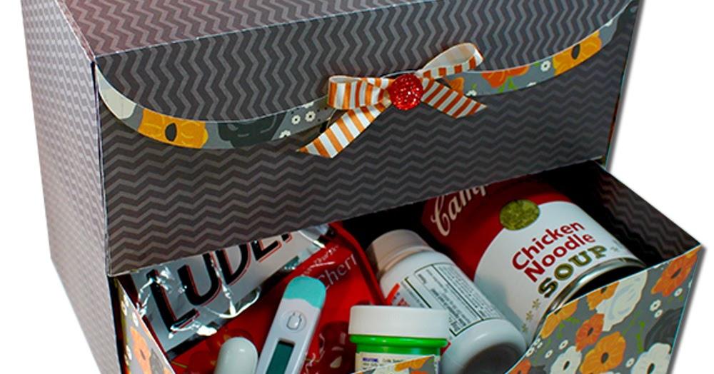 Jmrush Designs Get Well Gift Care Box