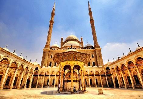 مسجد محمد على مسجد محمد على من الداخل