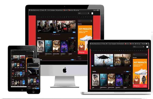 Wordpress Movie template -Dooplay