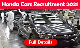 Honda Cars India Limited Tapukara, Rajasthan ITI Campus Placement Interview 2021 in Govt ITI Solan