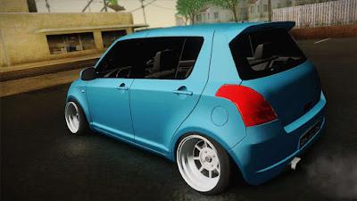 GTA San Andreas Suzuki Swift Hellaflush Best Car