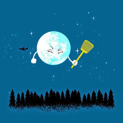 luna enojada