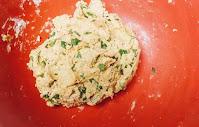 Dough for Methi paratha recipe