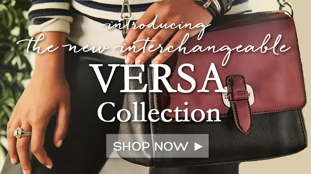 Shop interchangeable VERSA Signature Handbags (New purse that uses the Miche Bag patents!)