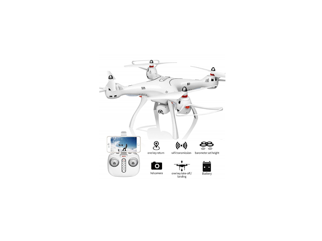 CrazyBuy Syma X8Pro FPV RC Quadcopter with 720P Camera