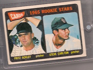 Cornerstone Collection: 1965 Topps Steve Carlton Enters the Magnetic Chamber