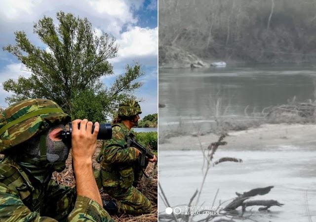 Τηλεοπτικό show Τούρκων: Πώς οι Ελληνικές Δυνάμεις τους σταμάτησαν μέσα στο ποτάμι
