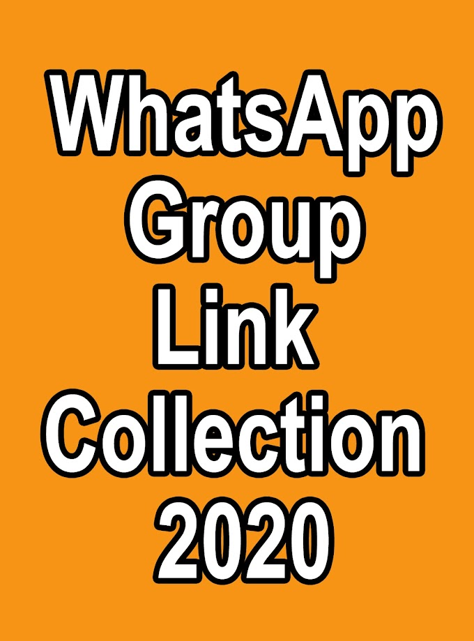 WhatsApp Group Link Collection 2020