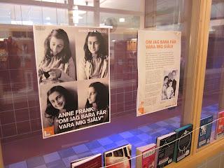 Anne Frank utställning inför förintelsens minnesdag 27 januari