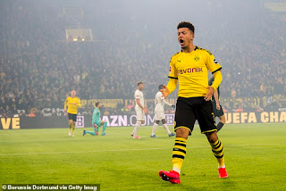 Manchester United have agreed £340,000-a-week deal with Jadon Sancho