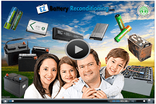 Easy battery reconditioning at home