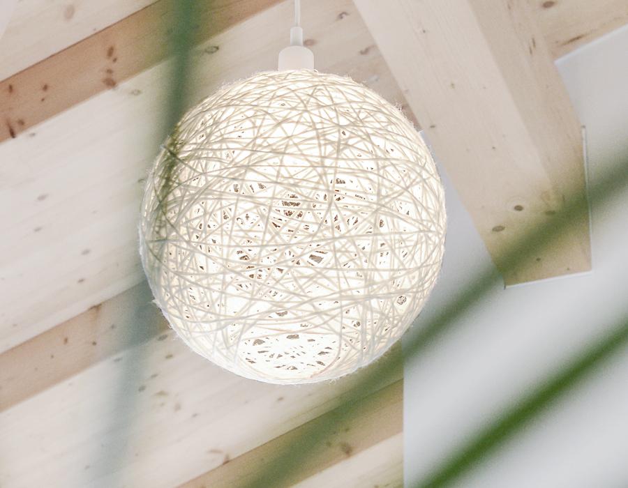 diy ein lampenschirm aus wolle f r meine muuto lampe wiesoeigentlichnicht. Black Bedroom Furniture Sets. Home Design Ideas