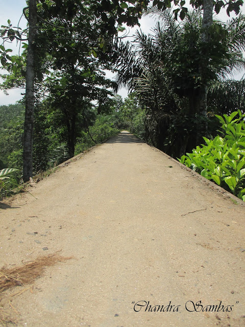 Jembatan Hatonduhan di Simalungun
