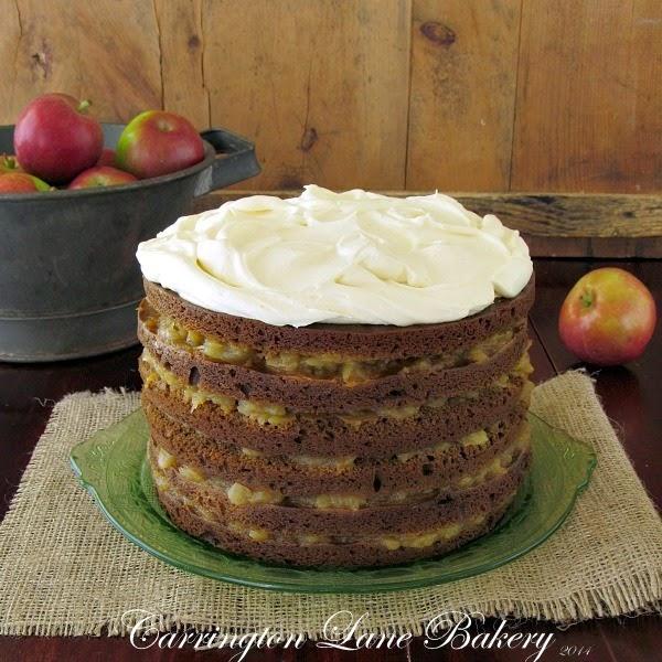Stacked Applesauce Cake Recipe