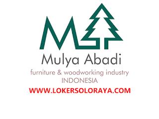 Loker Sukoharjo Staff Export & Designer di Pabrik Furniture Export PT Mulya Abadi Indocarpentry