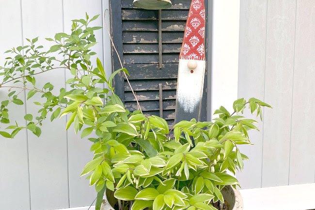 DIY Wooden Garden Gnome