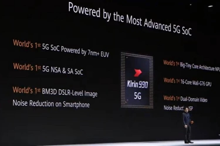 Powered by Kirin 990 chip!