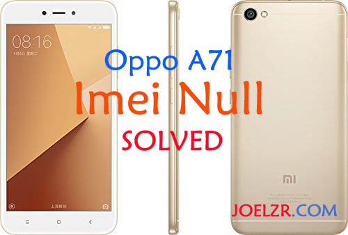 mengembalikan imei null oppo A71