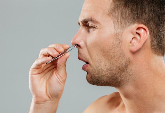 bahaya cabut bulu hidung