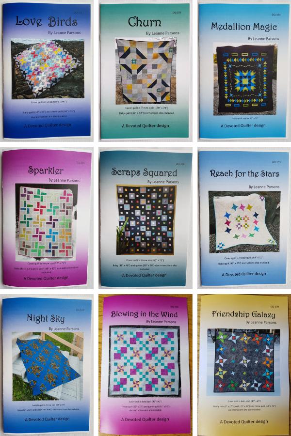 Devoted Quilter patterns | DevotedQuilter.com