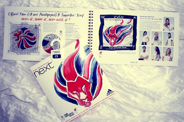 Next London Olympics Blogger package with scarf