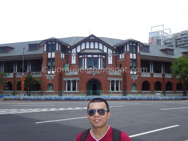 old Railway Ministry of Taiwan (台灣總督府交通局鐵道部)