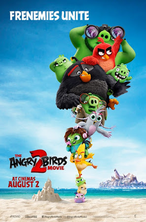 Poster Of Free Download The Angry Birds Movie 2 2019 300MB Full Movie Hindi Dubbed 720P Bluray HD HEVC Small Size Pc Movie Only At worldfree4u.com